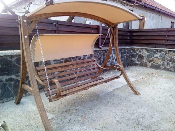 Деревянная качеля (гнута дерев'яна гойдалка )