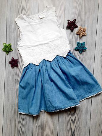 Красивое платье F&F на 3-4 года