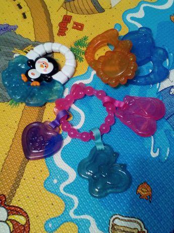Набор прорезывателей для зубов,игрушки,погремушки, фишер прайс