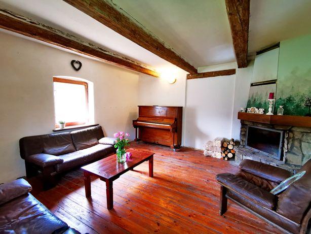 Piękny stary dom, siedlisko Ostrowina pełna własność, działka 45 ar