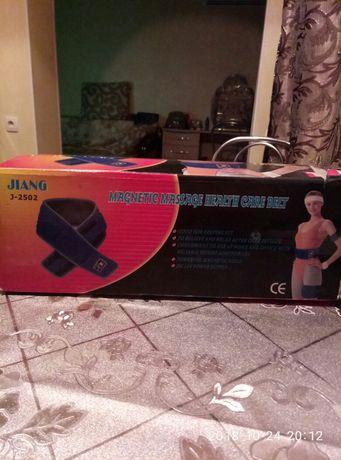 Пояс Magnetic Massage Belt .два поясадля похудения и тренировок.