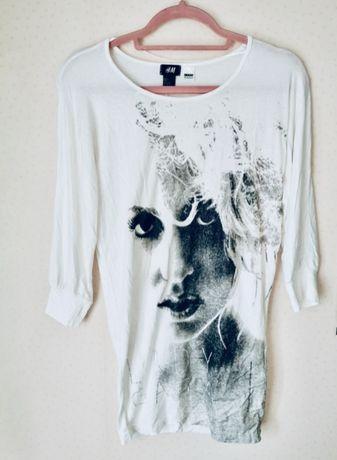 Bluzka z nadrukiem- Lady Gaga H&M
