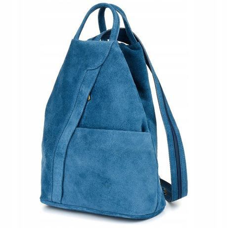 Vera Pelle włoski plecak skórzany damski