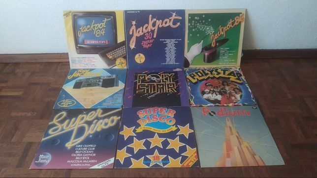Discos de vinil, vários LP`s