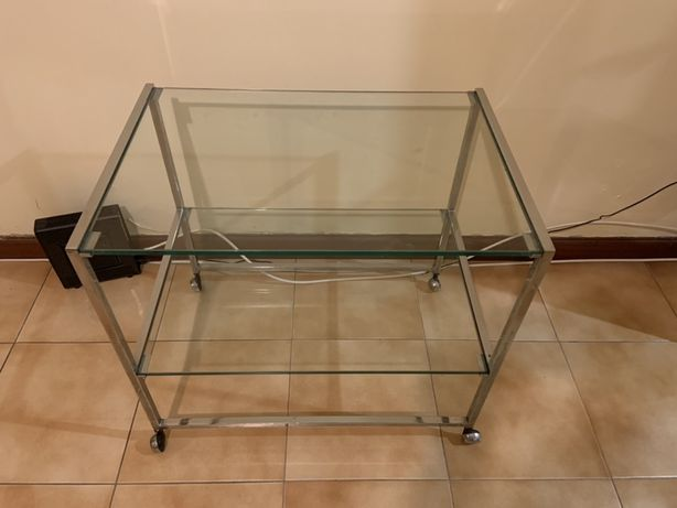Mesinha de vidro