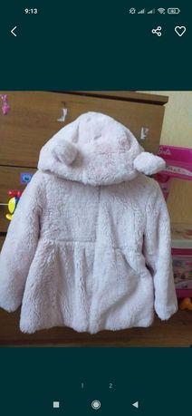 Продам демисизонную детскую куртку шубку