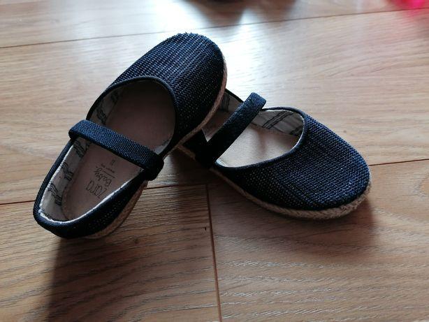 Sandałki Zara dziewczynka rozm 21