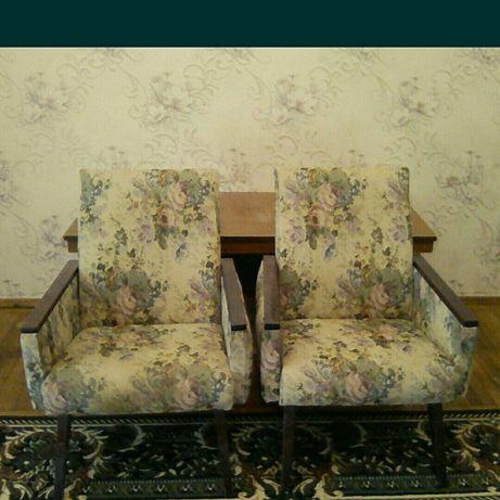 Два кресла ,ткань гобелен