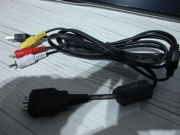 Kabel SONY Multi USB z AV aparat kamera CYBERSHOT