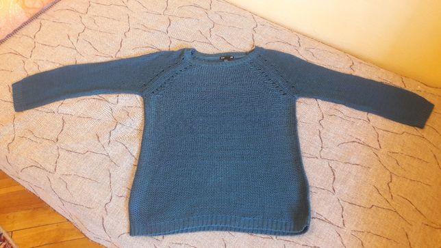 H&M Sweter sweterek Morski Zielony Niebieski Turkus rozmiar XS