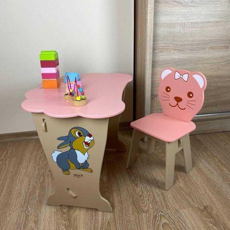 Стол и стул для детей.столик стульчик от 2 до 6 лет