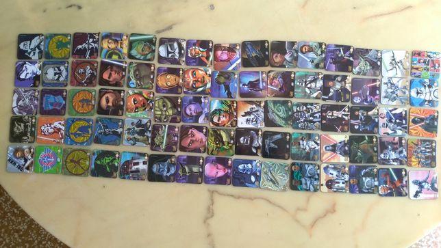 карты персонажи звездных воинов на магнитах