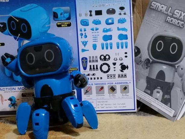 Robot,робот-конструктор детский Small Six паук Tobi