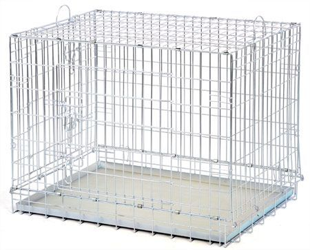 Клетка ВОЛК-1 для собак и кошек №1.ВОВК-1 91,5 х 61 х 72 см