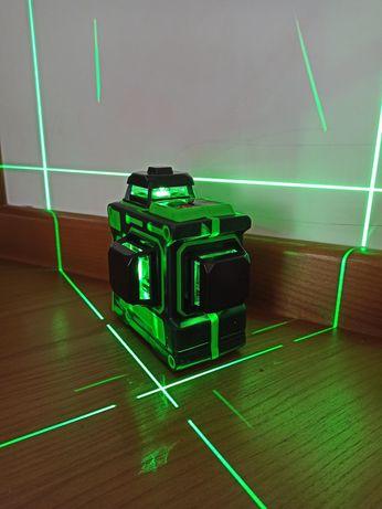 Штатив 2м подарок! Лазерный уровень Hilda 3D 12 линий лазерний рівень