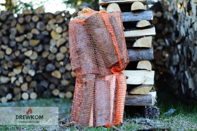 Drewno kominkowe w workach sezonowane