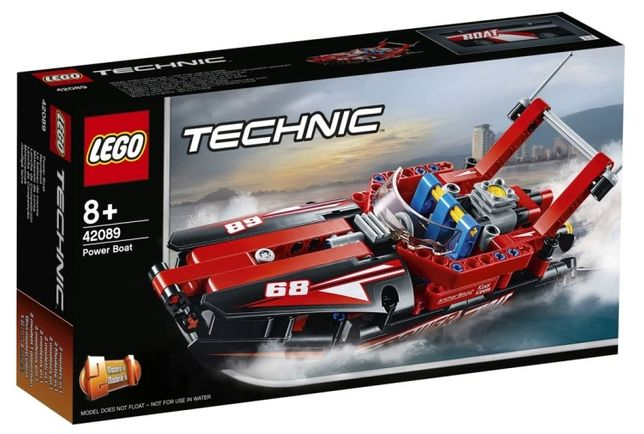 LEGO Technic 42089 Barco Potente - NOVO