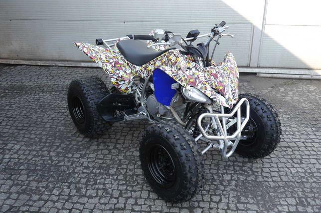 Quad Yamaha Raptor 250 . 2011 r. HOMOLOGACJA ! Najładniejszy w Polsce!