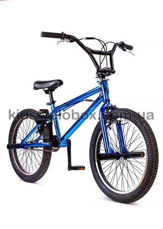 """BMX БМХ велосипед для подростка трюковый 20"""" Crosser Rainbow Cobra"""