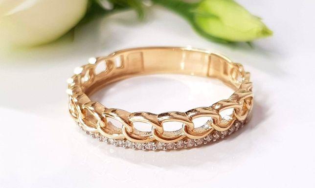 Nowy złoty pierścionek próba 333