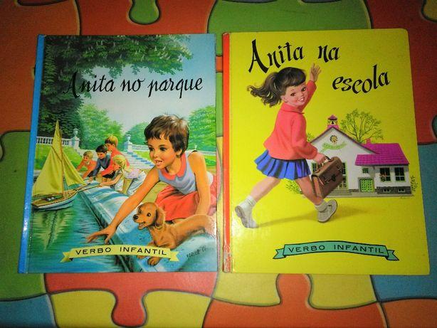 Colecção de livros da Anita