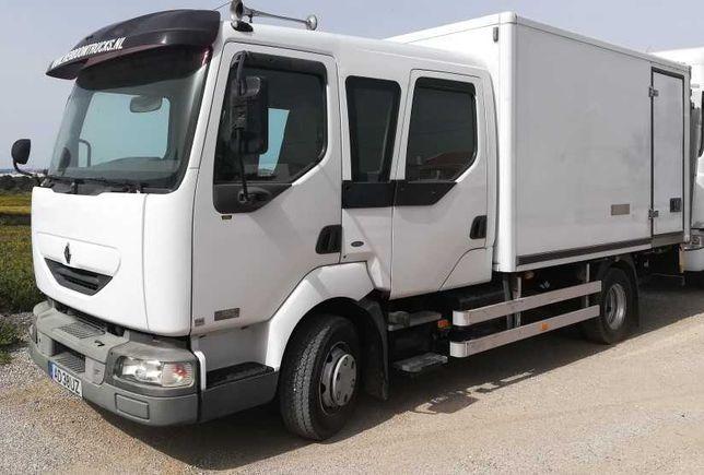 Camião Renault Midlum 180 Cabine Dupla Pode ser Autocaravana