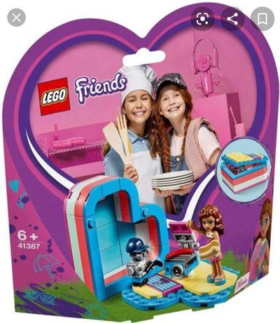 LEGO Friends Pudełko przyjaźni Oliwii Olivii 41387
