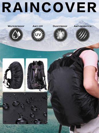 Чехол-дождевик на рюкзак (rain cover) 20-35 л