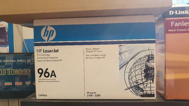 Tonery nr 96A oryginał do drukarki HP. Toner czarny C4096A.