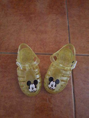 Disney sandálias crianças mickey unisexo