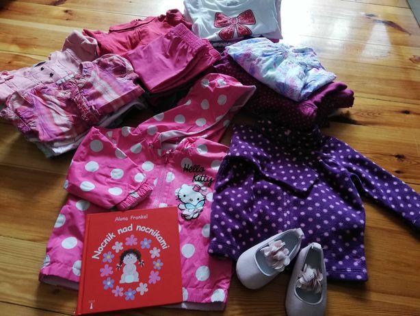 Paka, zestaw, ubranka dla dziewczynki, rozmiar 74