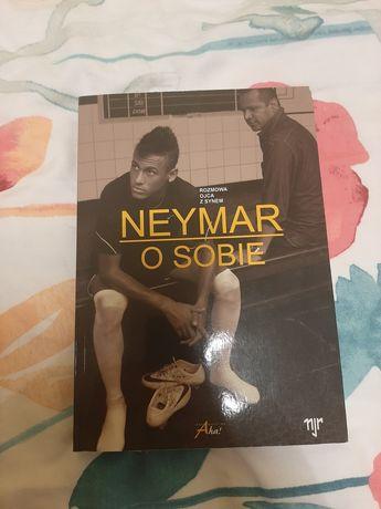 Książka  Neymar o sobie. Rozmowa ojca z synem