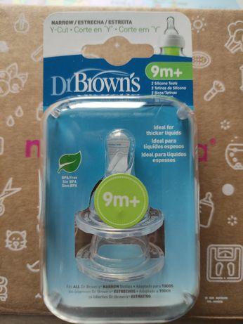 2 Tetinas Dr. Browns 9m+