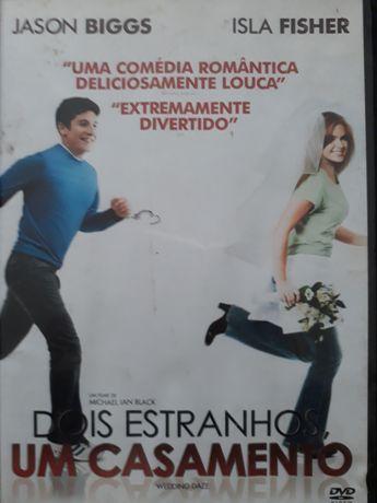 DVD Dois Estranhos Um Casamento