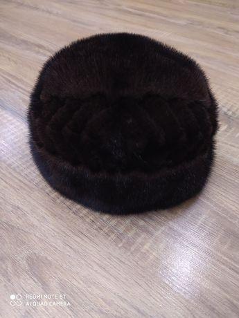 Меховая,норковая шапка