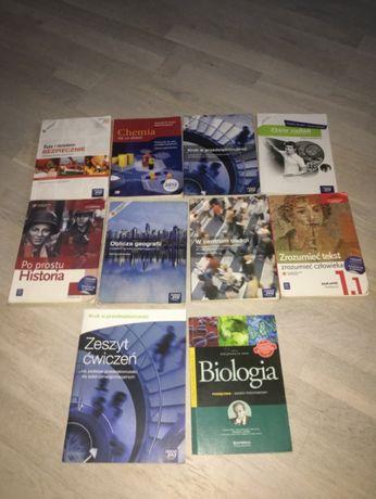 Sprzedam podręczniki do liceum -1 klasy