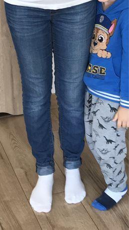 Spodnie jeansowe ciążowe H&M Mama super skinny rozmiar S