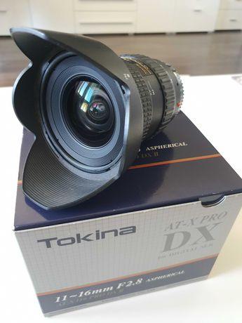 Obiektyw szerokokątny Tokina At-X PRO 11-16 mm f/2.8 do Sony