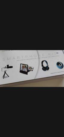 Kit para smartphone novo ler discrição