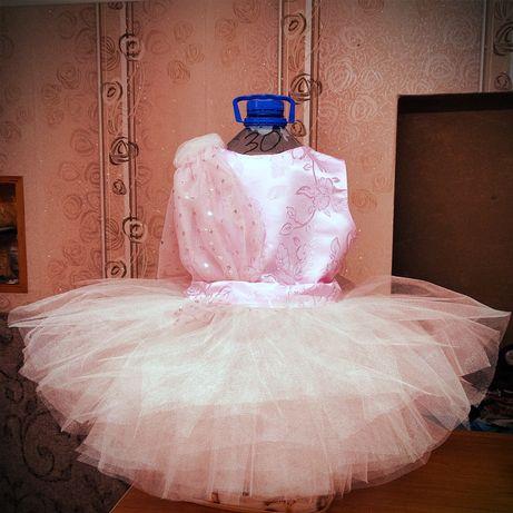 Очень пышное платье для девочки принцессы