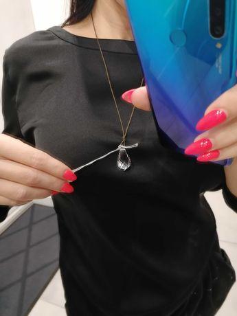 Swarovski przewieszka kryształ nowy na rzemyku