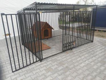 Kojec kojce dla psa.Kojce-Wiaty-Zadaszenia rozne modele. stal i drewno