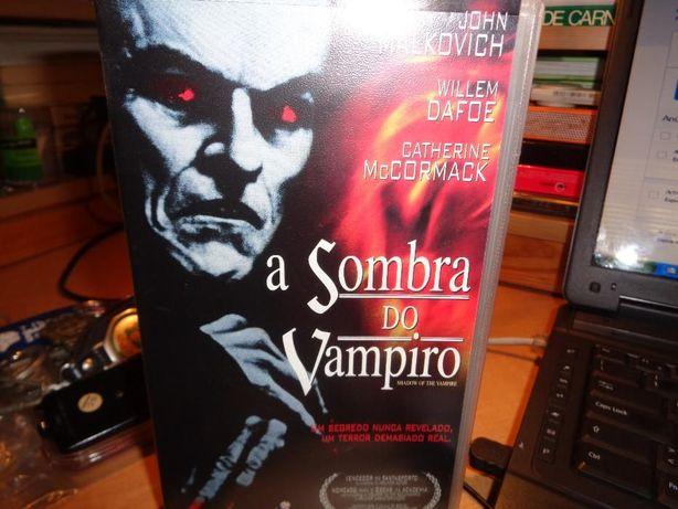 Filme VHS A Sombra do Vampiro bom para ajudar a adormecer uh,uh,uh,