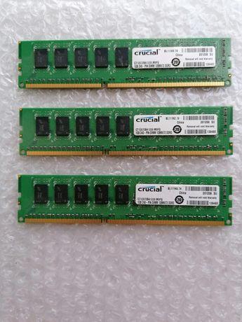 DDR3 Crucial PC3-10600 ECC Unbuffered