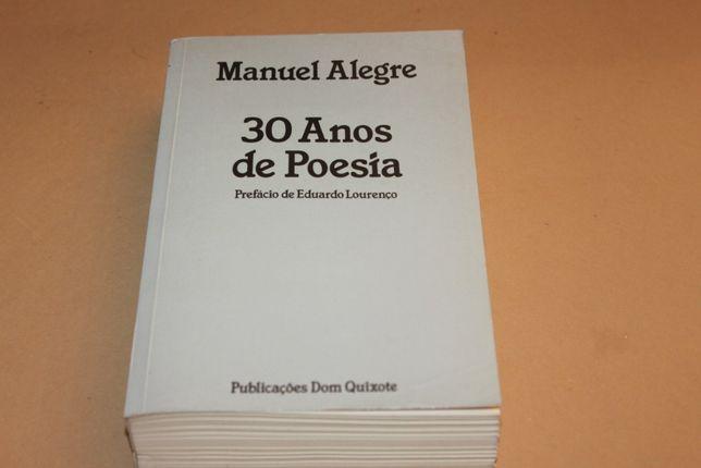30 Anos de Poesia// Manuel Alegre