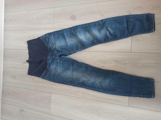 Dżinsy jeansy ciążowe H&M Mama r. 40