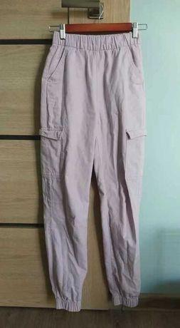 HM spodnie dla nastolatki wrzosowe XXS