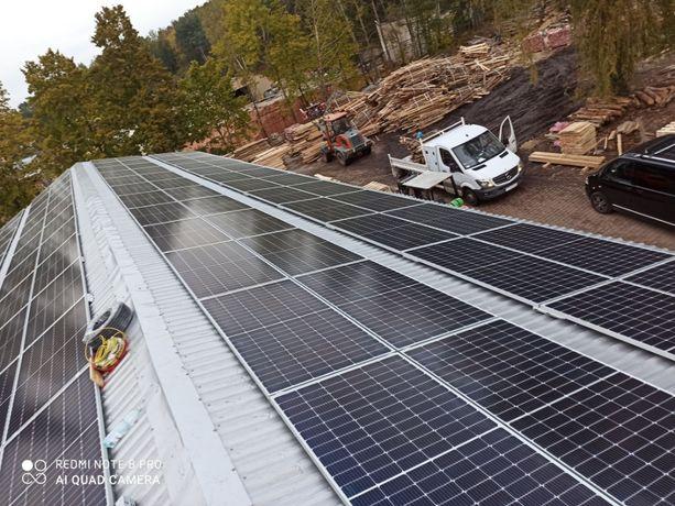 Fotowoltaika do 50 KWp - kompletna instalacja od 2500zł/kw- panele 460