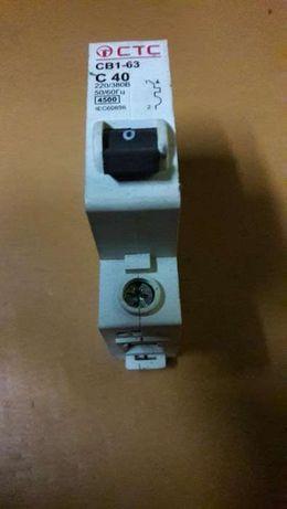 Автоматический выключатель СТС (СВ1-36) С40