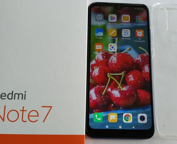 Смартфон Xiaomi redmi Note 7 4/64 gb оригинал